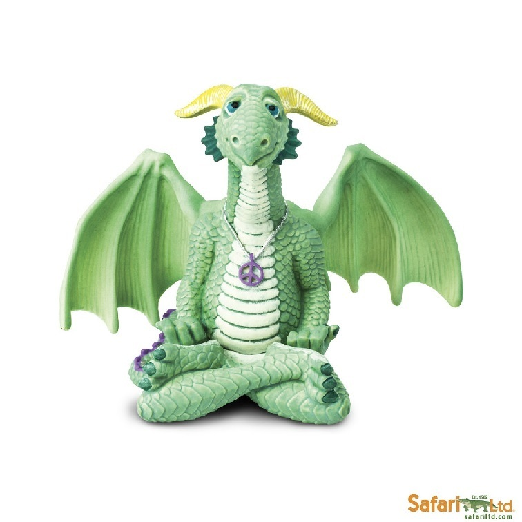 Safari Ltd 10153 Peace Dragon 10 cm Serie Mythologie
