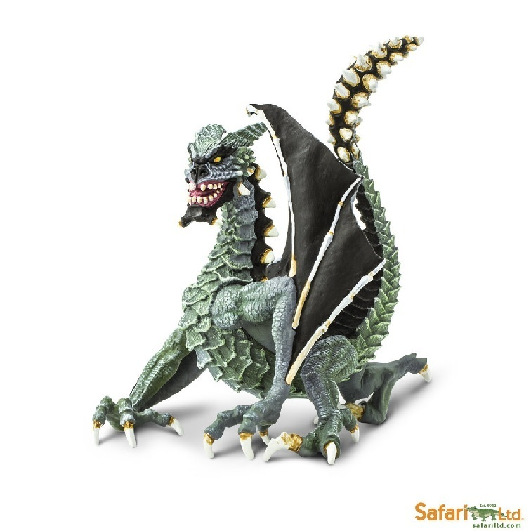 Safari Ltd 10166 Sinister Dragon 15 cm Serie Mythologie