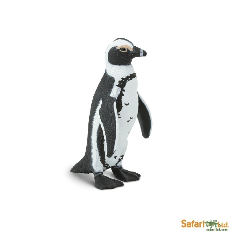 Safari Ltd 204029 Brillenpinguin 7 cm Serie Wassertiere