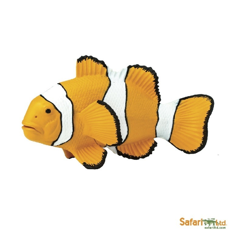 Safari Ltd 204129 Clownfish 10 cm Series Water Animals