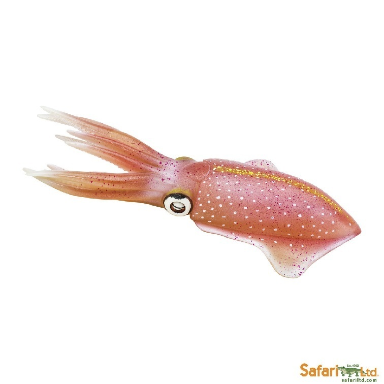 Safari Ltd 266229 squid 21 cm Series Water Animals