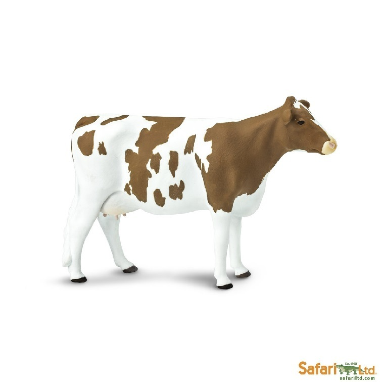 Safari Ltd 162129 Ayrshire-Cow 12 cm Series Farmland