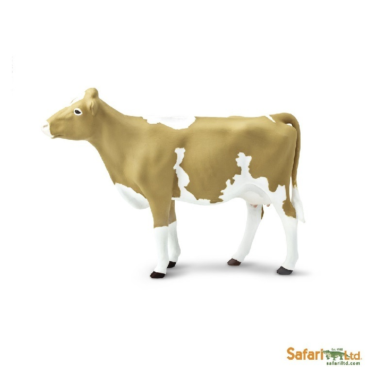 Safari Ltd 162029 Guernsey-Cow 13 cm Series Farmland