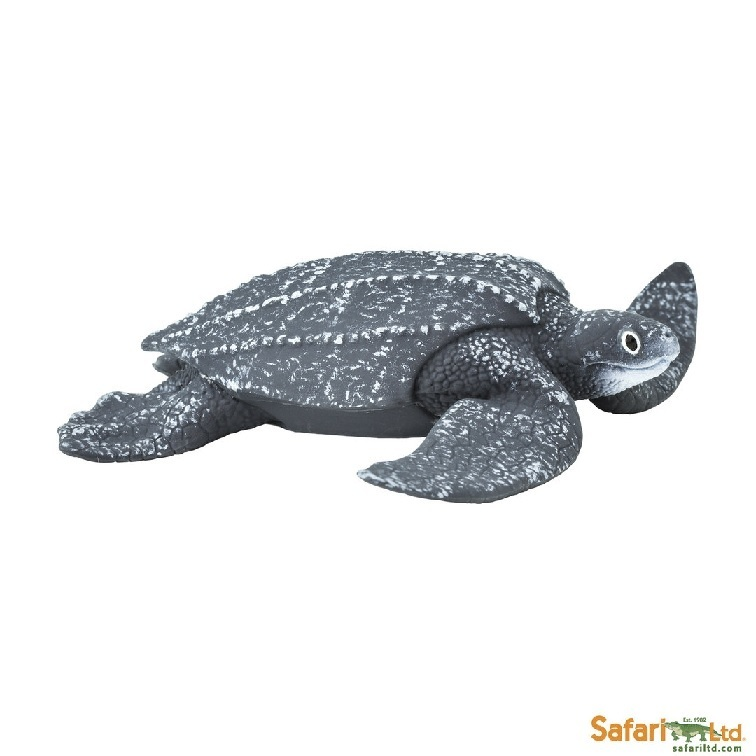 Safari Ltd 202429 Leatherback turtle 13 cm Series Water Animals