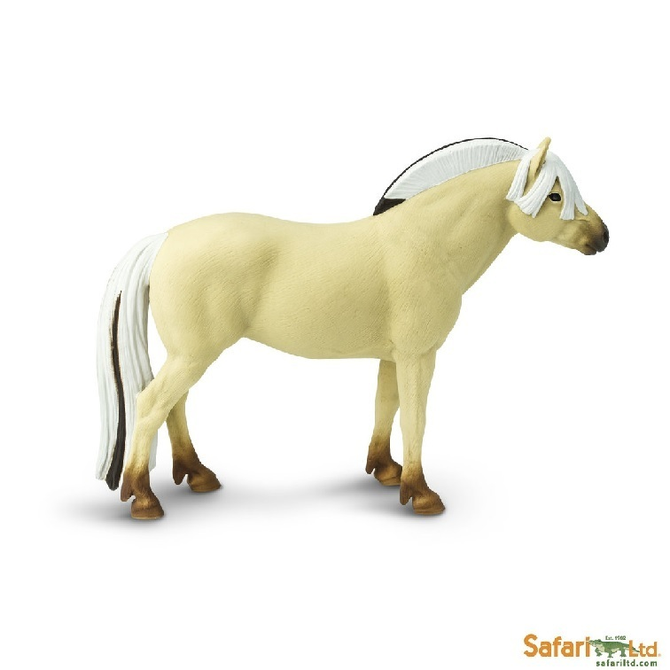 Safari Ltd 152705 Norwegisches Fjordhorse 14 cm Series Horses