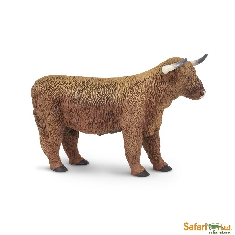 Safari Ltd 162329 shottish Highland-Cow 13 cm Series Farmland