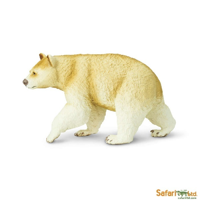 Safari Ltd 100045 Kermode Bär 11 cm Serie Wildtiere