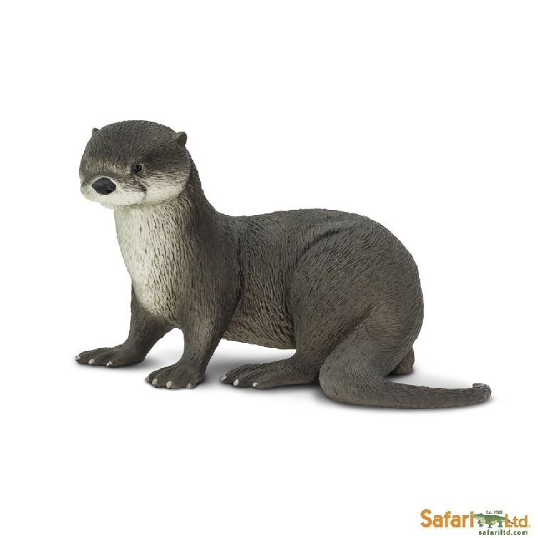 Safari Ltd 266429 fish-otter 13 cm Series Water Animals