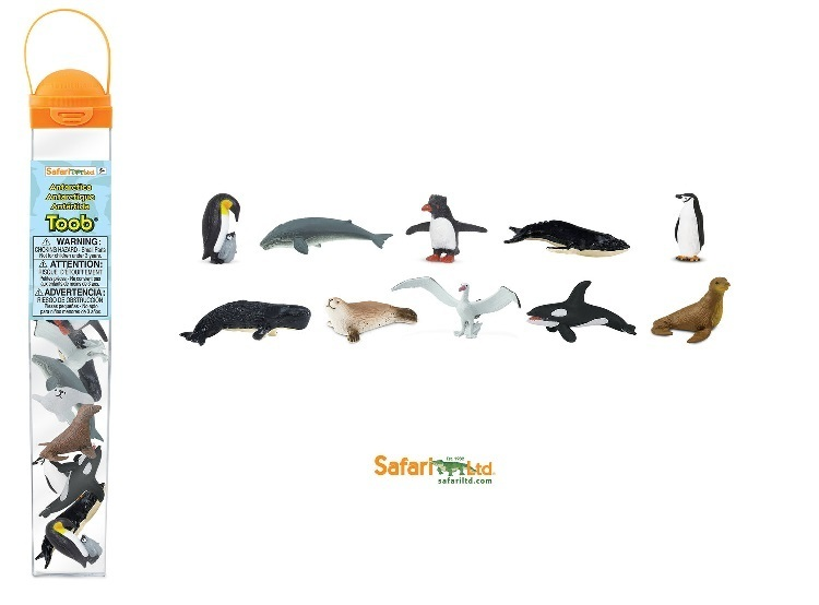Safari Ltd 100113 Antarctica (10 Minifigures) Series Topic Area
