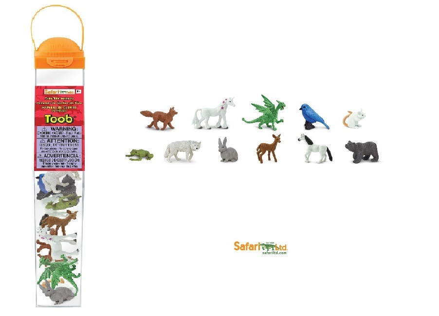 Safari Ltd 100112 Fabelwesen (11 Minifiguren) Serie Themengebiet