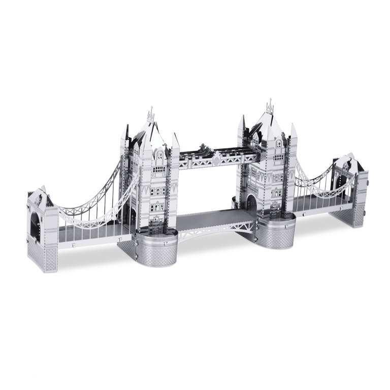 Metal Earth 1022 London Tower Bridge 3D-Metall-Bausatz Silver-Edition