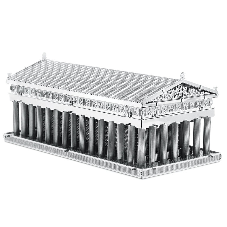 Metal Earth 1059 Parthenon 3D-Metall-Bausatz Silver-Edition