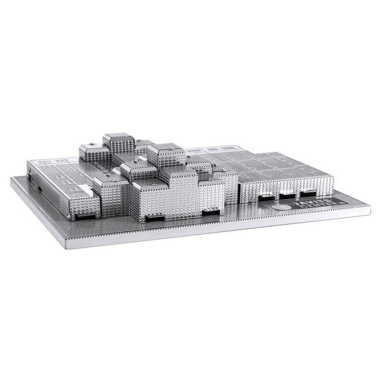 Metal Earth 1073 Javits Convention Center 3D-Metall-Bausatz Silver-Edition