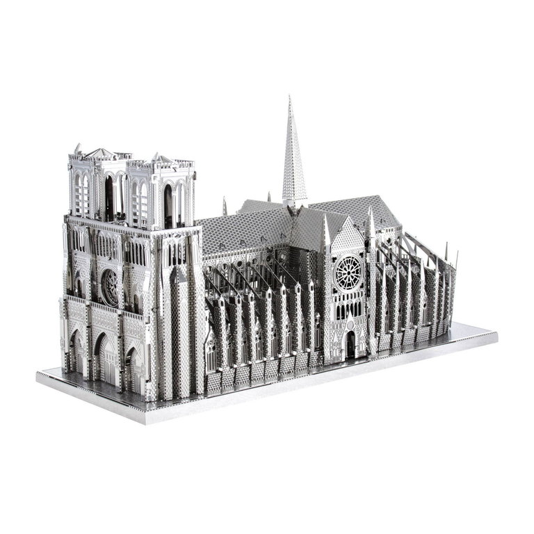Metal Earth 1303 Notre Dame 40 Teile 3D-Metall-Bausatz ICONX