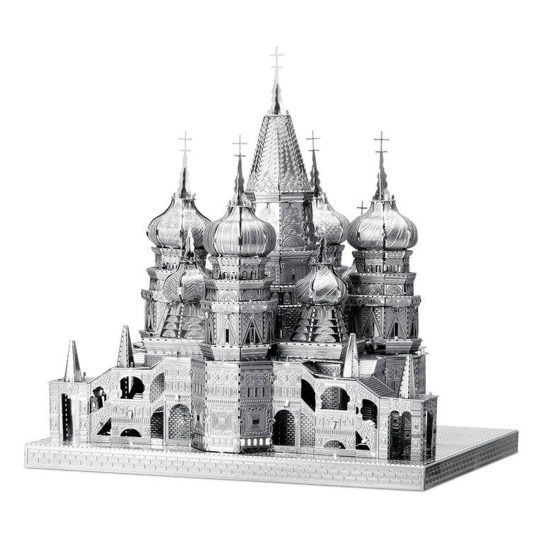 Metal Earth 1306 Saint Basi's Cathedra 50 Teile 3D-Metall-Bausatz ICONX