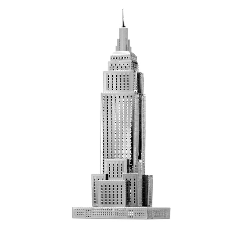 Metal Earth 1310 Empire State Building 20 Teile 3D-Metall-Bausatz ICONX