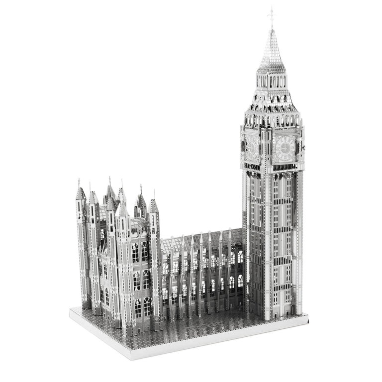 Metal Earth 1318 Big Ben 50 Teile 3D-Metall-Bausatz ICONX