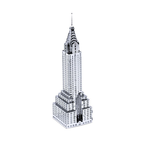 Metal Earth 1009 Chrysler Building 3D-Metall-Bausatz Silver-Edition