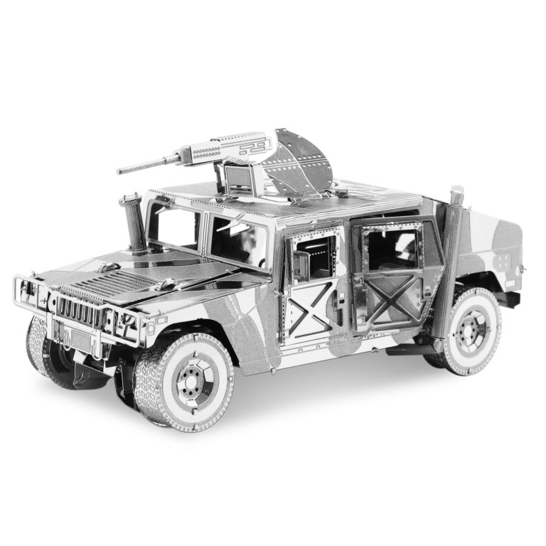 Metal Earth 1308 Humvee (80 pieces) 3D-Metall-Construction ICONX