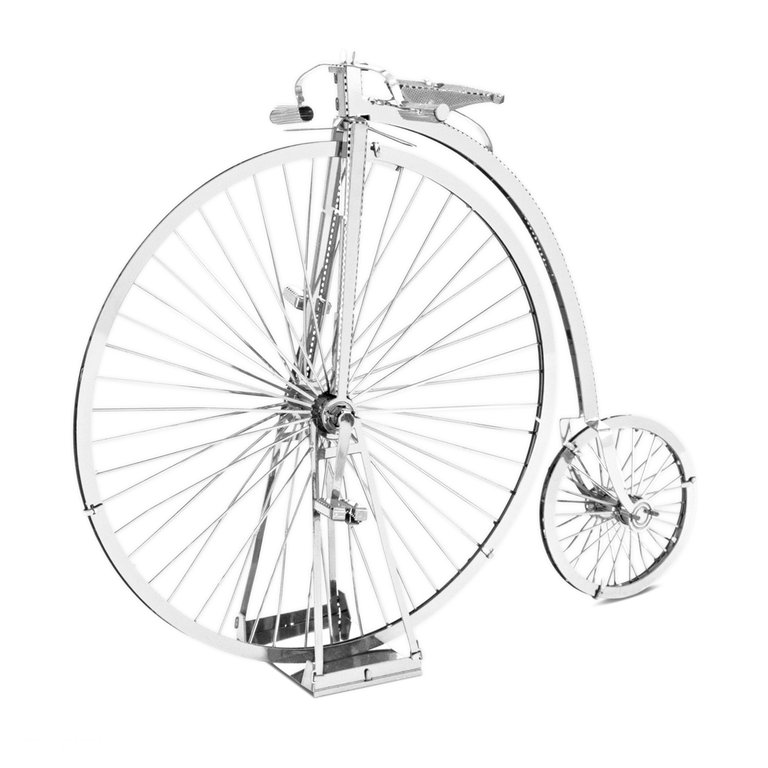 Metal Earth 1087 Penny Farthing 3D-Metall-Construction Silver-Edition