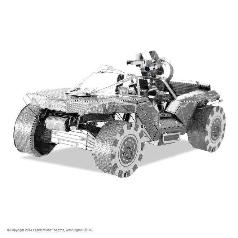 Metal Earth 1291 UNSC Warthog HALO 3D-Metall-Bausatz