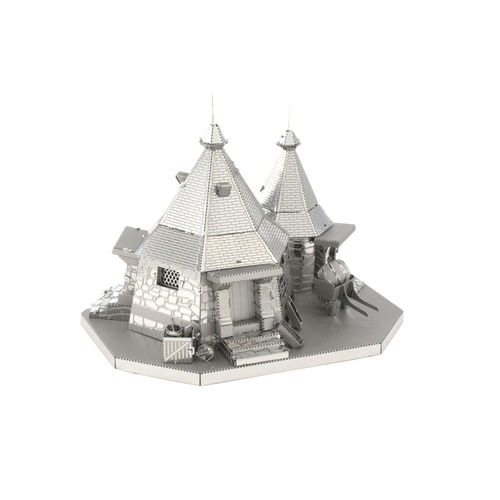 Metal Earth 3441 Hagrids Hut Harry Potter 3D-Metall-Bausatz