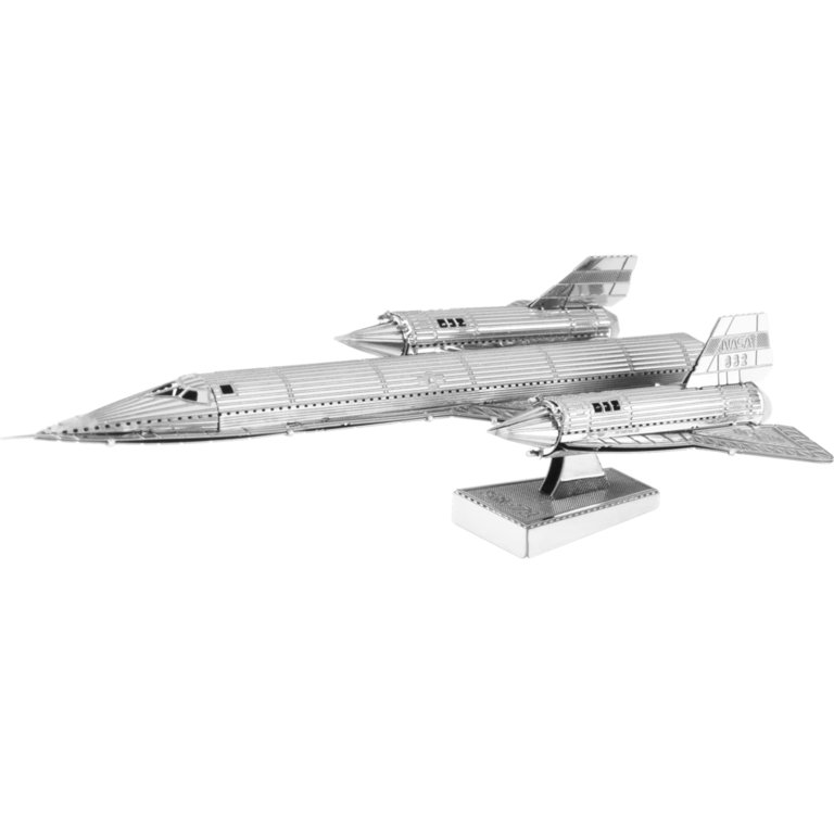 Metal Earth 1062 Blackbird SR-71 3D-Metall-Bausatz Silver-Edition