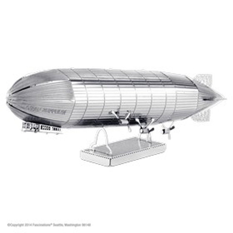 Metal Earth 1063 Graf Zeppelin 3D-Metall-Bausatz Silver-Edition
