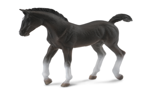Collecta 88452 tennessee walker foal (black) 9 cm Horses