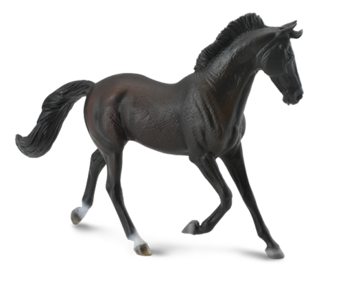Collecta 88478 thoroughbred mare (black) 16 cm Horses