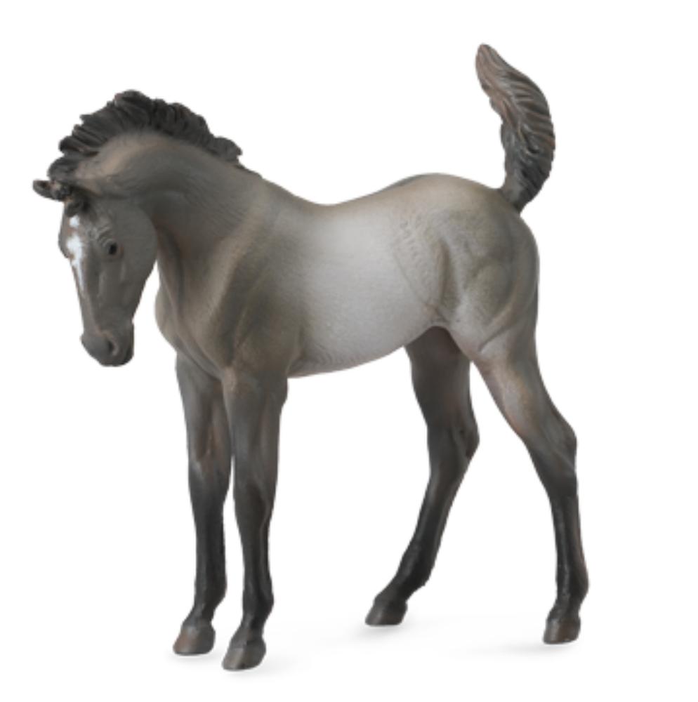 Mustang Fohlen Grulla 8 cm Pferdewelt Collecta 88546
