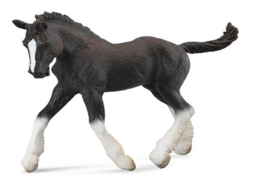 Collecta 88583 shire foal (black) 10 cm Horses
