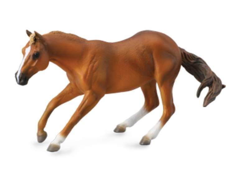Collecta 88585 quarter horse - sorrel 16 cm Horses