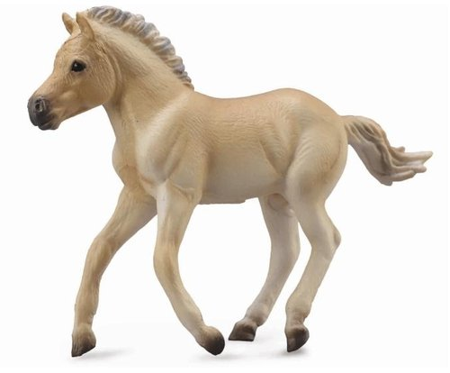 Collecta 88592 fjord foal brown dun 9 cm Horses