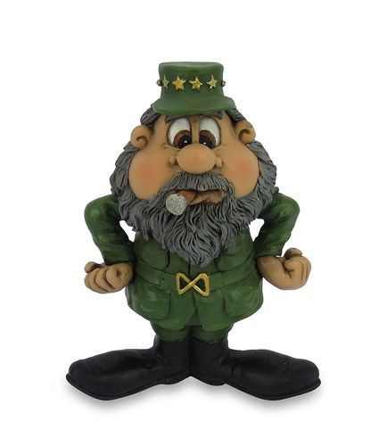 Les Alpes 015 72264 Fidel Castro 10 cm synthetic resin Funny Decoration Series VIIIP