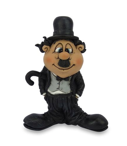 Les Alpes 015 72251 Charley Chaplin 10 cm synthetic resin Funny Decoration Series VIIIP