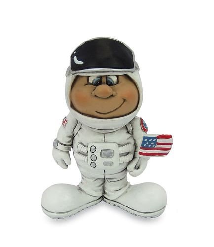 Les Alpes 015 72267 Neil Armstrong 9 cm synthetic resin Funny Decoration Series VIIIP