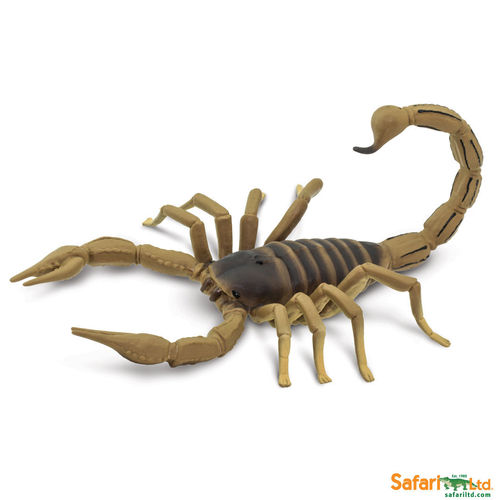 Safari Ltd 100260 Skorpion 18 cm Serie Reptilien