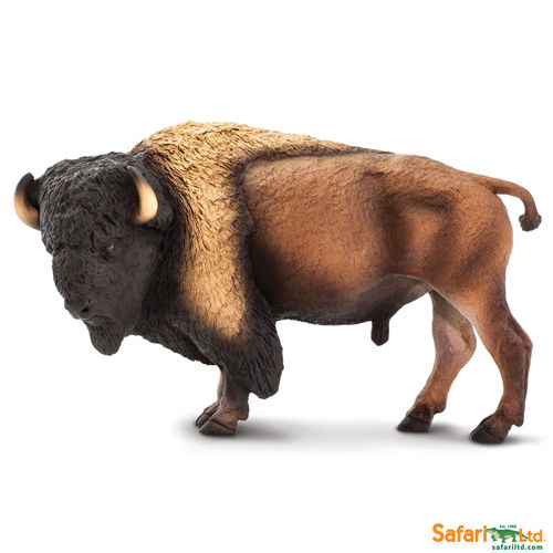 Safari Ltd 100138 Bison 21 cm Serie Wildtiere XXL