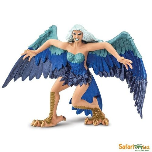 Safari Ltd 100078 Harpyie 16 cm Serie Mythologie