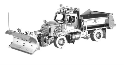 Metal Earth 1147 LKW 114 SD Snow Plow 3D-Metall-Construction