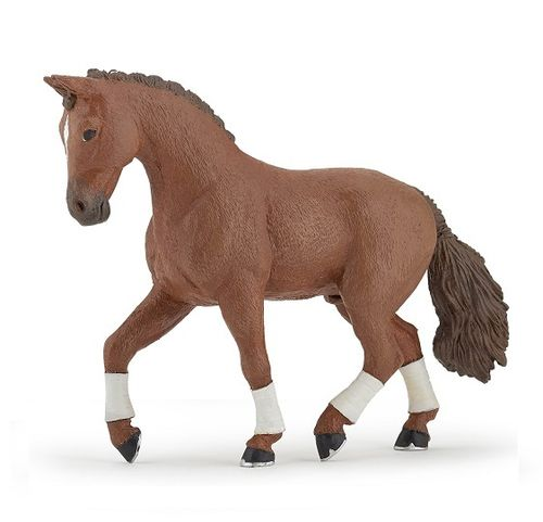 Papo 51556 hannoverian Horse (red/brown) 13 cm Horses
