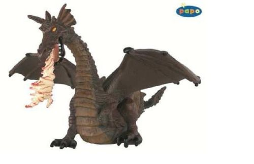 Papo 39026 fire-breathing dragon (red) 12 cm Fairy Tales