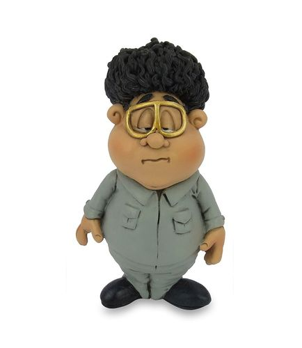 Les Alpes 015 72268 Kim Jong-il 10 cm synthetic resin Funny Decoration Series VIIIP