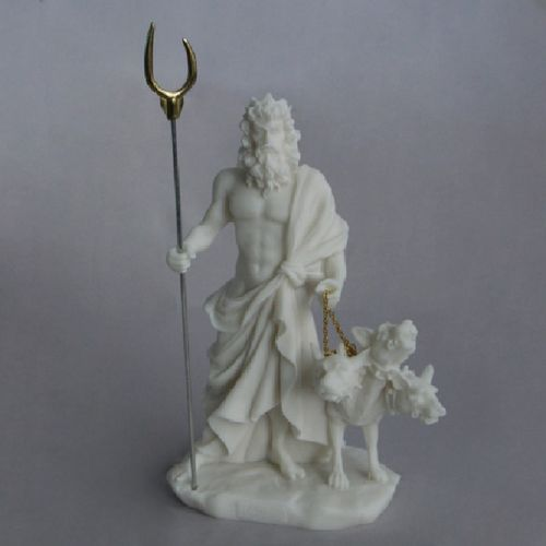 Maska 3-673W Hades 15 cm alabaster white series god