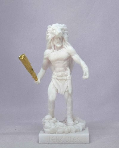 Maska 3-714W Herakles 15 cm alabaster white series god