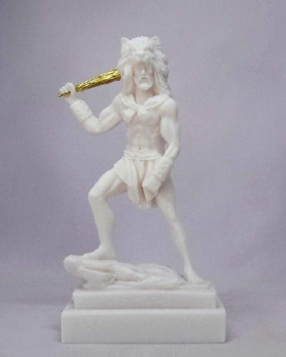 Maska 4-771W Herakles 19 cm alabaster white series god