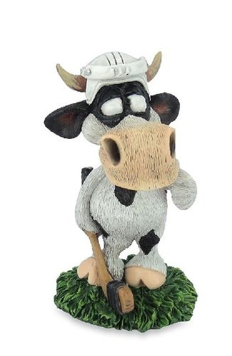 Les Alpes 014 81516 hockey player 11 cm synthetic resin Funny Decoration Series Bull Berni