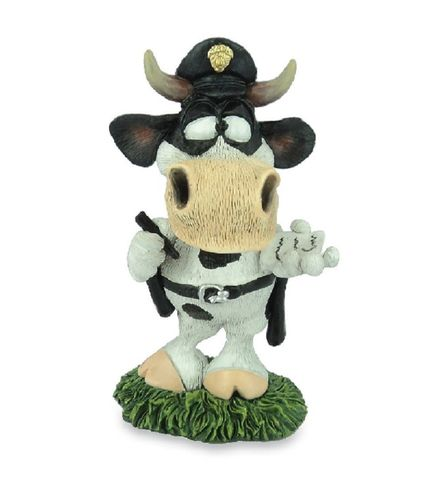 Les Alpes 014 81503 policeman 11 cm synthetic resin Funny Decoration Series Bull Berni