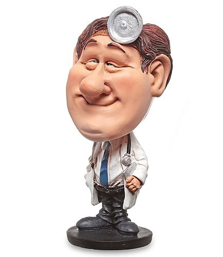 Les Alpes 010 10005 doctor 14 cm Bobblehead synthetic resin Funny Decoration Series Jobs